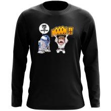 T-Shirt à manches longues  parodique Luke Skywalker et R2-D2 : Luke Life Episode V : un robot...ménager !! (Parodie )