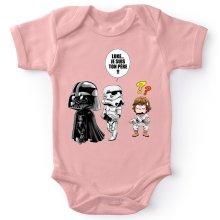 Bodys  parodique Dark Vador, Luke et un Storm Trooper : Luke...Je suis ton père !! (Parodie )