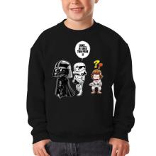 Sweat-shirts  parodique Dark Vador, Luke et un Storm Trooper : Luke...Je suis ton père !! (Parodie )