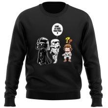Pull  parodique Dark Vador, Luke et un Storm Trooper : Luke...Je suis ton père !! (Parodie )