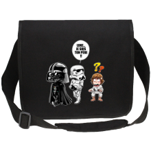 Sacs bandoulière Canvas  parodique Dark Vador, Luke et un Storm Trooper : Luke...Je suis ton père !! (Parodie )