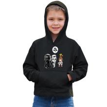 Sweat à capuche Enfant  parodique Dark Vador, Luke et un Storm Trooper : Luke...Je suis ton père !! (Parodie )