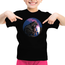 T-shirt Enfant Fille  parodique Kylo Ren : Maître Soudeur... (Parodie )