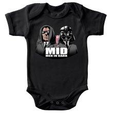 Body bébé  parodique Dark Vador et Dark Sidious se prenant pour des Men In Black : Men In Dark !! (Parodie )