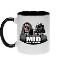 Mugs  parodique Men In Black X Dark Vador et Palpatine : Men In Dark !! (Parodie )