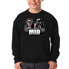 Pull Enfant  parodique Dark Vador et Dark Sidious se prenant pour des Men In Black : Men In Dark !! (Parodie )