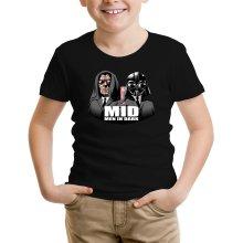 T-shirt Enfant  parodique Dark Vador et Dark Sidious se prenant pour des Men In Black : Men In Dark !! (Parodie )