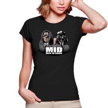 T-shirts Femmes  parodique Men In Black X Dark Vador et Palpatine : Men In Dark !! (Parodie )