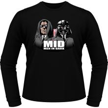 T-Shirts à manches longues  parodique Men In Black X Dark Vador et Palpatine : Men In Dark !! (Parodie )