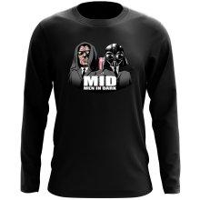 T-Shirt à manches longues  parodique Dark Vador et Dark Sidious se prenant pour des Men In Black : Men In Dark !! (Parodie )