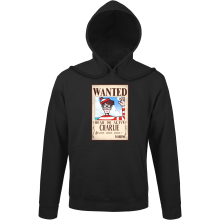 Sweats à capuche  parodique Charlie à la sauce One Piece Wanted : Mystérieux Wanted (Parodie )