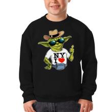 Sweat-shirts  parodique Yoda : New York I Love ! (Parodie )