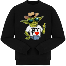 Pulls  parodique Yoda : New York I Love ! (Parodie )