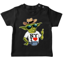 T-shirts  parodique Yoda : New York I Love ! (Parodie )