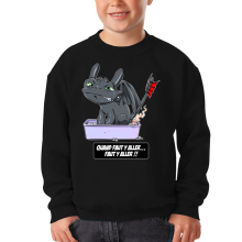 Sweat-shirts (French Days)  parodique Krokmou le Dragon : Quand faut y aller... Faut y aller !! (Parodie )