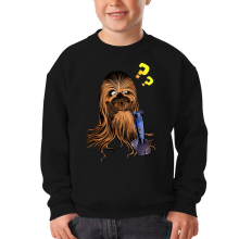 Sweat-shirts  parodique Chewbacca : Qu