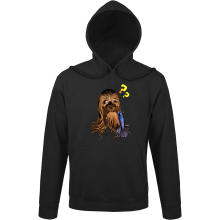 Sweats à capuche  parodique Chewbacca : Qu