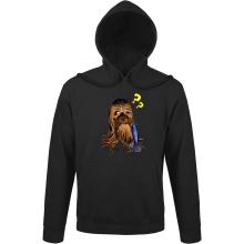 Sweat à capuche  parodique Chewbacca : Qu