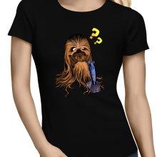 T-shirts Femmes  parodique Chewbacca : Qu