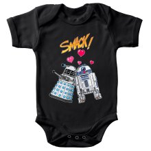 Body bébé  parodique R2-D2 in love d