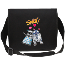 Sac bandoulière Canvas  parodique R2-D2 in love d