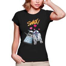 T-shirts Femmes  parodique R2-D2 in love d