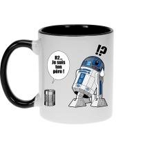 Mug  parodique R2-D2 - Je suis ton père : Boîte de conserve ... (Parodie )