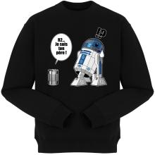 Pulls  parodique R2-D2 - Je suis ton père : Boîte de conserve ... (Parodie )