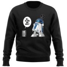 Pull  parodique R2-D2 - Je suis ton père : Boîte de conserve ... (Parodie )