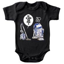 Body bébé  parodique R2-D2 : R2, je suis ton père (Super Deformed) (Parodie )