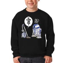Sweat-shirts  parodique R2-D2 : R2, je suis ton père (Super Deformed) (Parodie )