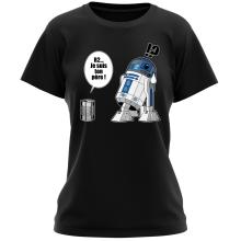 T-shirt Femme  parodique R2-D2 - Je suis ton père : Boîte de conserve ... (Parodie )