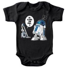 Body bébé  parodique R2-D2 le Droïd d