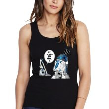 Débardeurs  parodique R2-D2 le Droïd d