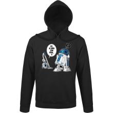 Sweat à capuche  parodique R2-D2 le Droïd d