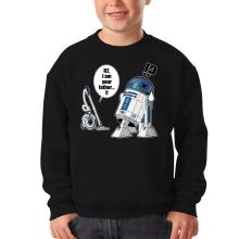 Sweat-shirts  parodique R2-D2 : R2... Je suis ton père ! (en VO remasterisée !) (Parodie )