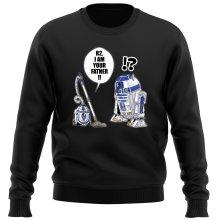 Pull  parodique R2-D2 : R2, je suis ton père ! (en VO remasterisée) (Parodie )