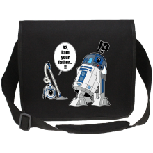Funny Canvas Messenger Bags - R2-D2 ( Parody)