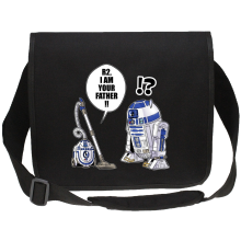 Funny  Canvas Messenger Bag - R2-D2 ( Parody) (Ref:867)