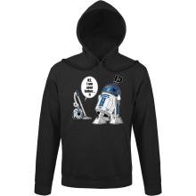 Sweats à capuche  parodique R2-D2 : R2... Je suis ton père ! (en VO remasterisée !) (Parodie )