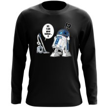 Funny Long Sleeve Tops - R2-D2 ( Parody)