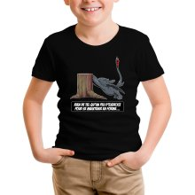 T-shirt Enfant  parodique Krokmou : Rien de tel qu