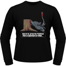 T-Shirts à manches longues  parodique Krokmou : Rien de tel qu