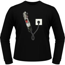 T-Shirts à manches longues  parodique Le sabre laser : Sabre Laser... en Charge ! (Parodie )