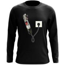 T-Shirt à manches longues  parodique Le sabre laser : Sabre Laser... en Charge ! (Parodie )