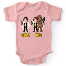 Body bébé (Filles)  parodique Le Duo Han Solo et Chewbacca : Solo Duo :) (Parodie )