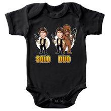 Body bébé  parodique Le Duo Han Solo et Chewbacca : Solo Duo :) (Parodie )