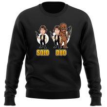 Pull  parodique Le Duo Han Solo et Chewbacca : Solo Duo :) (Parodie )