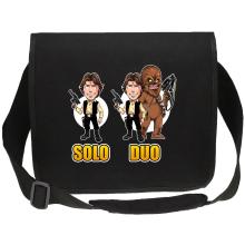 Sac bandoulière Canvas  parodique Le Duo Han Solo et Chewbacca : Solo Duo :) (Parodie )