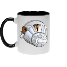 Mugs  parodique Han Solo et Chewbacca : Star Dog :) (Parodie )
